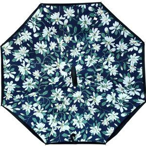 Daisy Flower Double Layer Inverted Umbrella